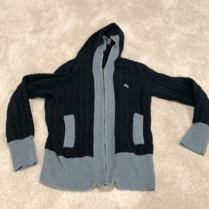 Lacoste black and gray hoodie. Used